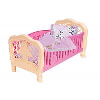 """Кроватка для кукол """"Технок"""" 4494, 45х26.5х24, фото 1"""