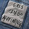 Стильна жіноча джинсовці з капюшоном (42-46), фото 7