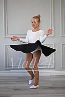 Спідниця Vlad&K Україна 9208 Для дівчаток Чорний Зростання 98-164