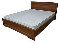 Кровать Кармен + 2 ящика 90x200 орех светлый