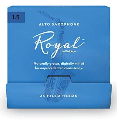25 штук D`ADDARIO RJB0115-B25 Royal by D'Addario - Alto Sax #1.5 - 25 Box Трости для альт саксофона, фото 2