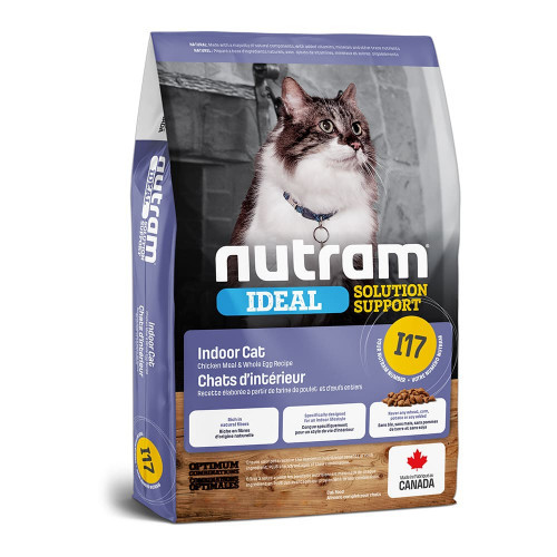 Сухой корм I17 Nutram Ideal Solution Support Indoor Cat для кошек домашнего содержания, холистик, 1.13 кг