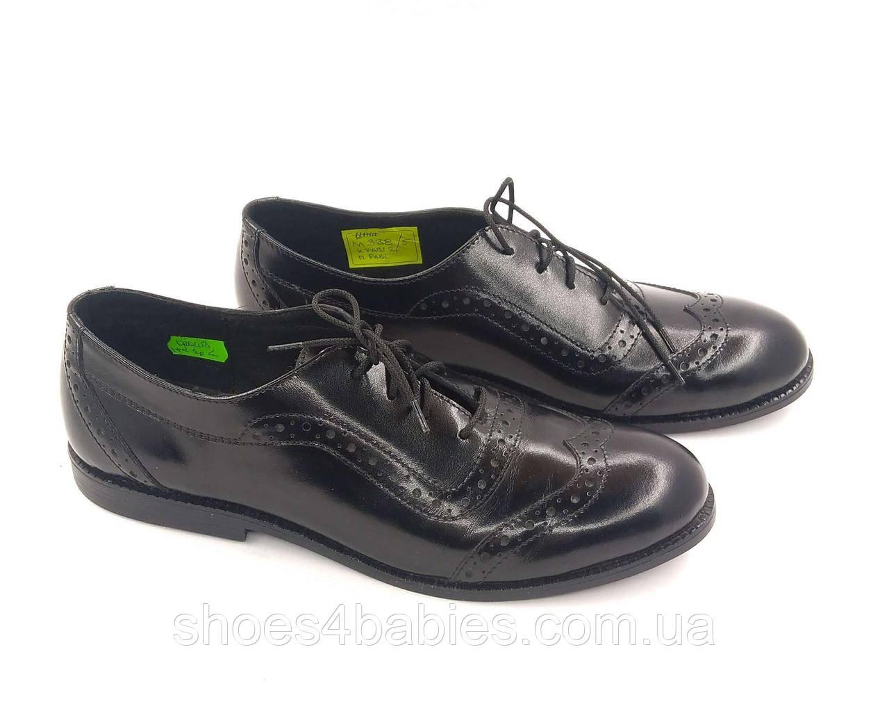 Туфли кожаные FS collection р. 39 - 25.5 см модель 338