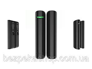 Ajax DoorProtect Plus black беспроводной датчик открытия, удара и наклона