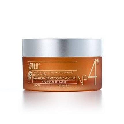 Увлажняющий крем для чувствительной кожи ACWELL AQUA CLINITY CREAM Double Moisture №4, 50 мл, фото 2