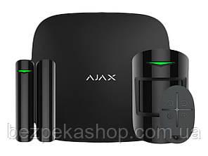 Ajax HUB StarterKit black комплект системы безопасности