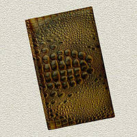 """Книга алфавитная 16 х 27 см натуральная кожа """"Динозавра"""" Foliant, фото 1"""