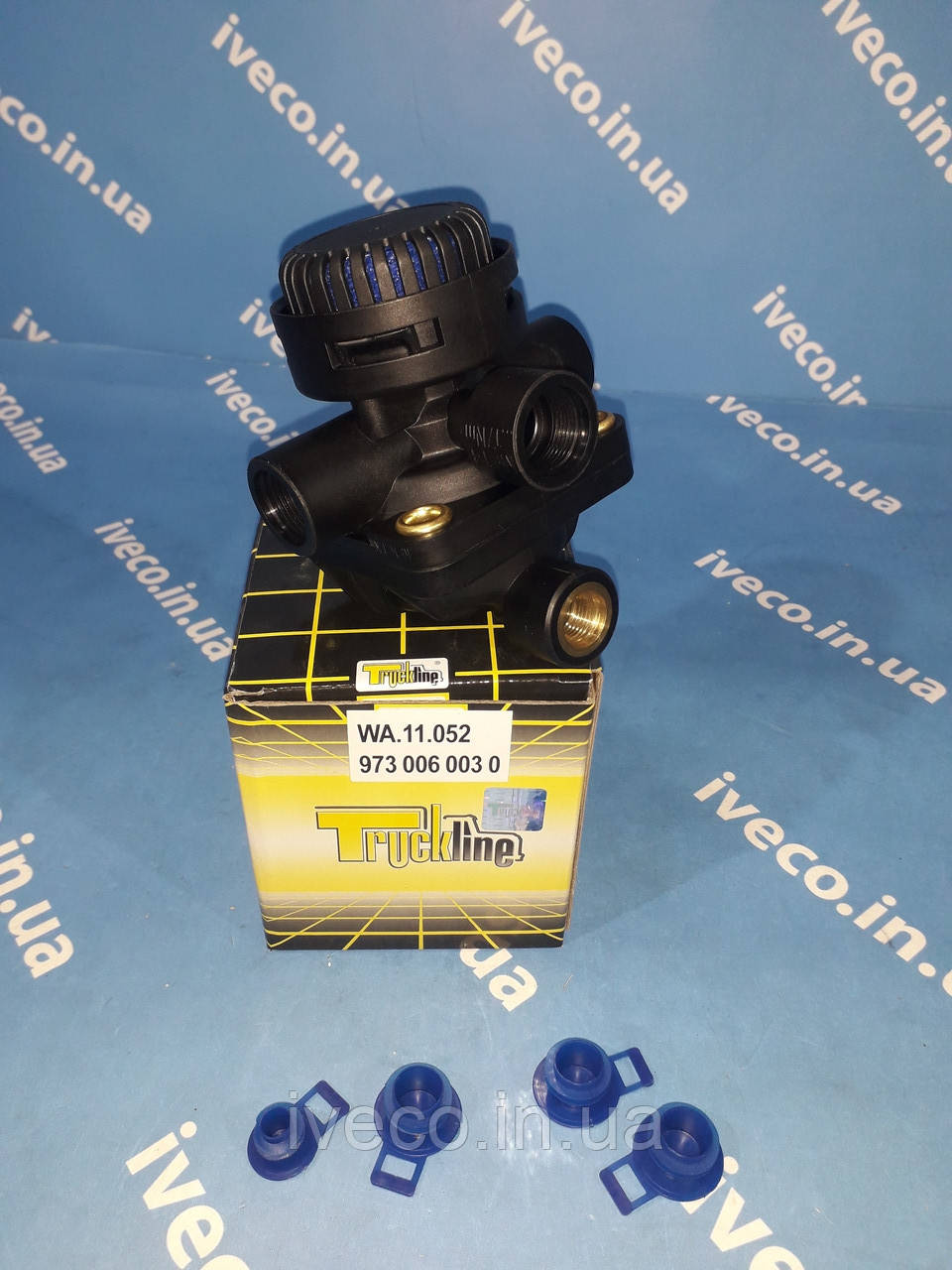Клапан ускорительный MAN TGA DAF IVECO Eurocargo 8137884 1505412 9730060000 9730060010 9730060030 81521166065
