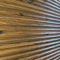 Декоративная 3Д панель Бамбук Дерево (самоклеющиеся пластиковые 3d панели под доски деревянный) 700x700x8 мм, фото 1