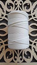Полиэфирный шнур без сердечника 3мм №1 Белый