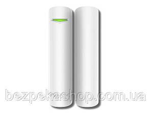 Ajax DoorProtect strong white датчик магнитно-контактный (геркон) беспроводной