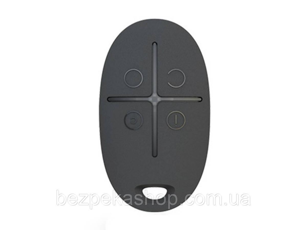 Ajax SpaceControl black брелок управления сигнализацией (черный)