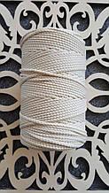 Полиэфирный шнур без сердечника 3мм №2 Светлый беж
