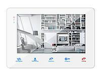 """Samson SW-718 монитор домофона 7"""" с памятью на 80 кадров и SD карту (белый), фото 1"""