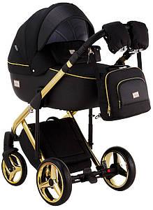 Детская универсальная коляска 2 в 1 Adamex Luciano Polar Graphite Q85