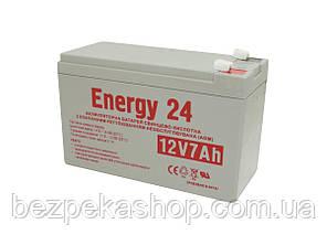 Energy24 Аккумулятор свинцово-кислотный 12V7AH