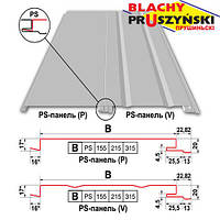 "Фасадные PS панели ""Blachy-Pruszynski"" 0,5 мм 315 P (Глянец)"