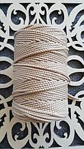Полиэфирный шнур без сердечника 3мм  №3 Кэмел