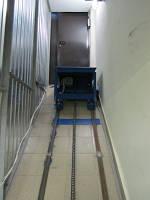 Подъемник наклонный Docker электрический 1000х800 мм, ход 8м, г/п 500кг