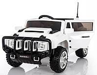 Детский электромобиль EVA колеса Hummer T-7836, Белый