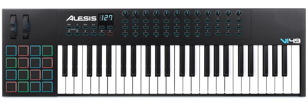 Компактна MIDI клавіатура ALESIS VI49