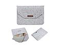 """Чохол-конверт з фетру для Macbook Air/Pro 13,3"""" - сірий, фото 2"""