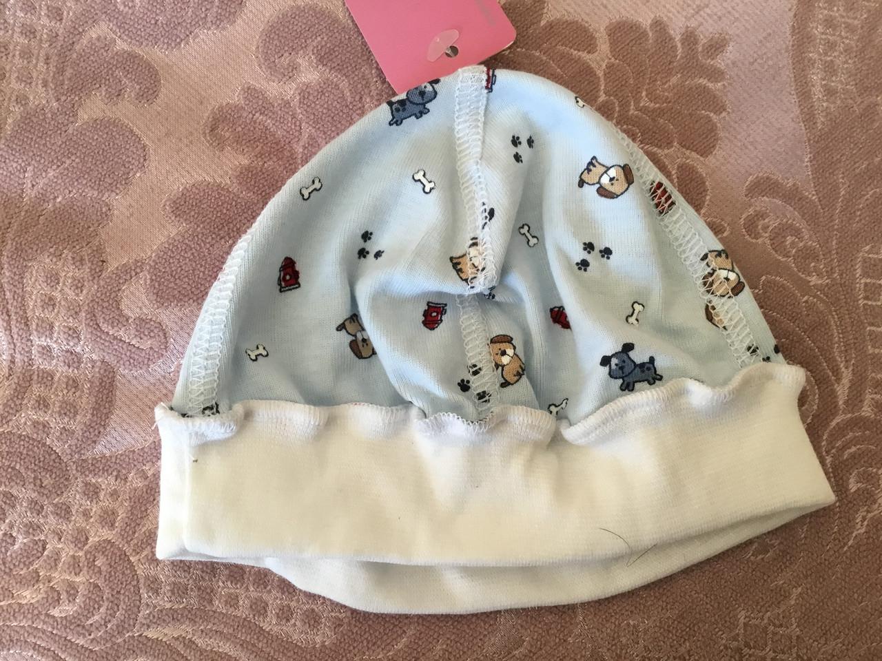 Легкая детская шапочка для новорожденных