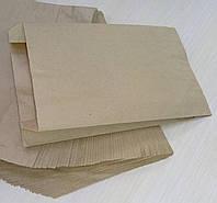 Бумажный пакет 220х140х50 крафт вторичный бурый (упаковка 100 штук)