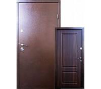 Дверь входная уличная Qdoors Вип-М Гранд, цвет темный орех