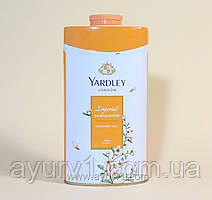 "Yardley Sandalwood / Парфюмированный тальк для тела ""Сандал"" / 250 г."