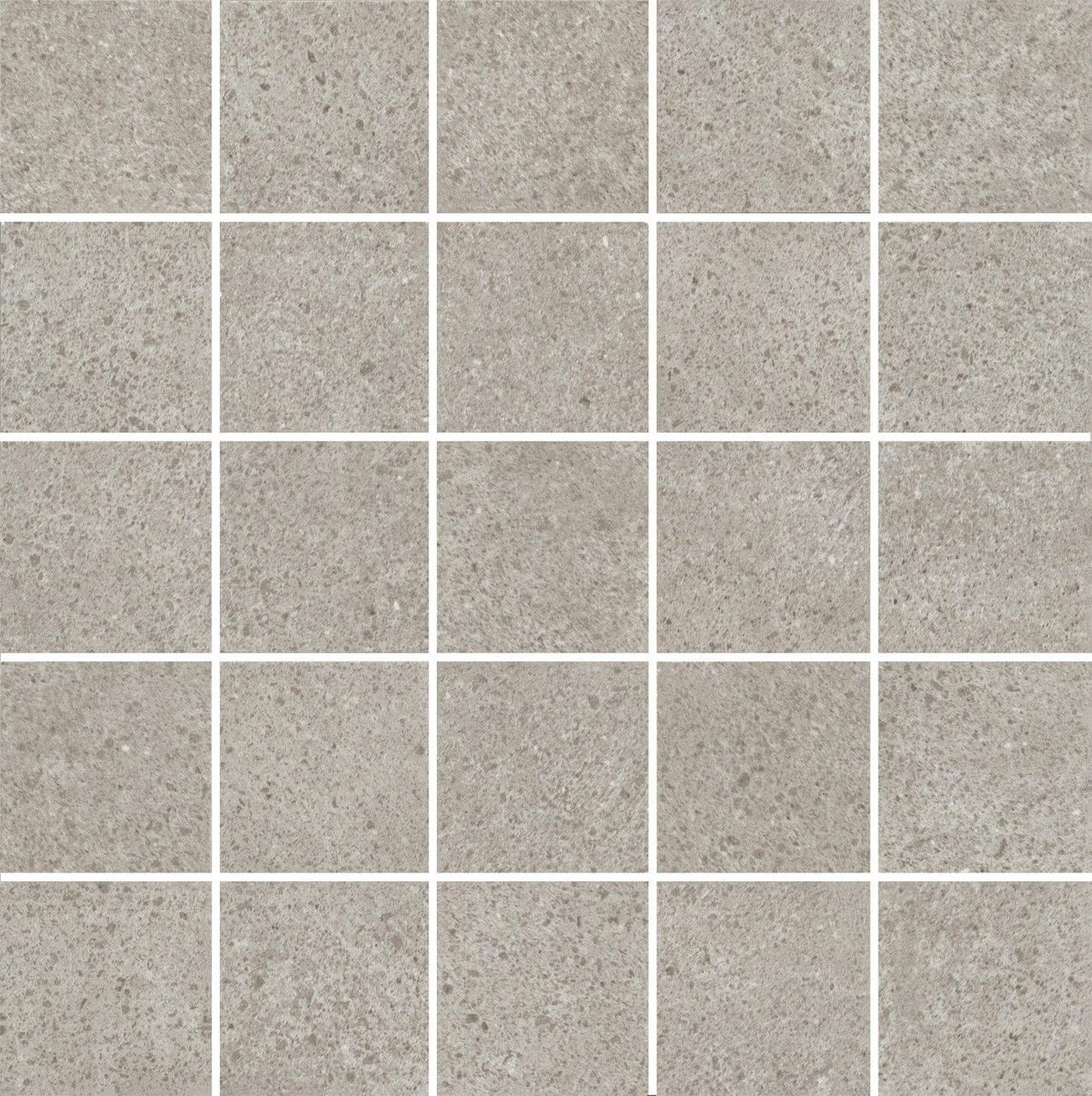 Декор Kerama Marazzi керам. д/с безана серый мозаичный 25х25, mm12137 MM12137