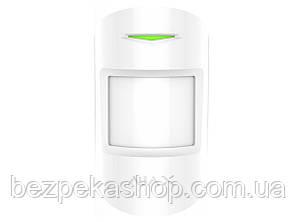 Ajax MotionProtect white датчик движения беспроводной (белый)