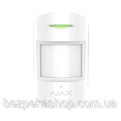 Ajax CombiProtect white датчик движения беспроводной (белый)