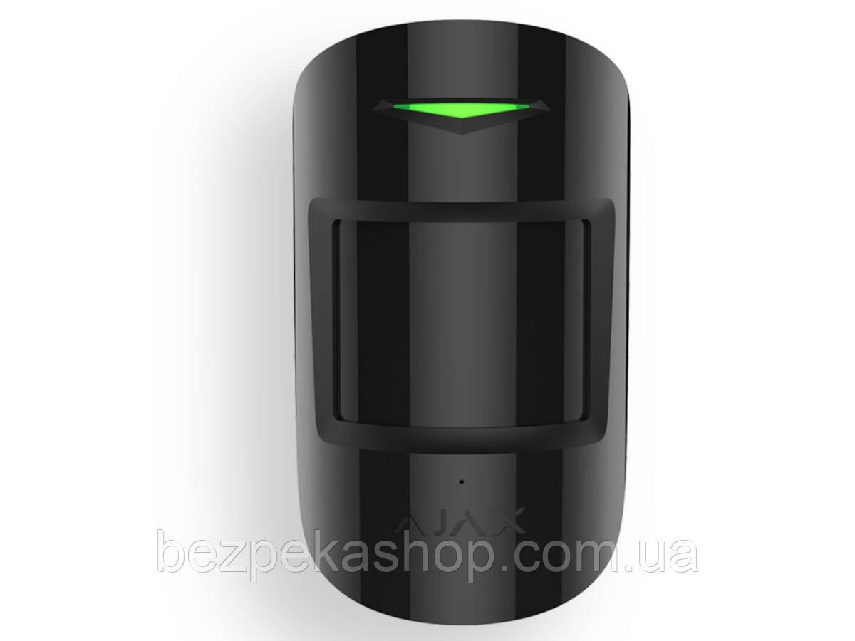 Ajax MotionProtect black бездротовий датчик руху (чорний)