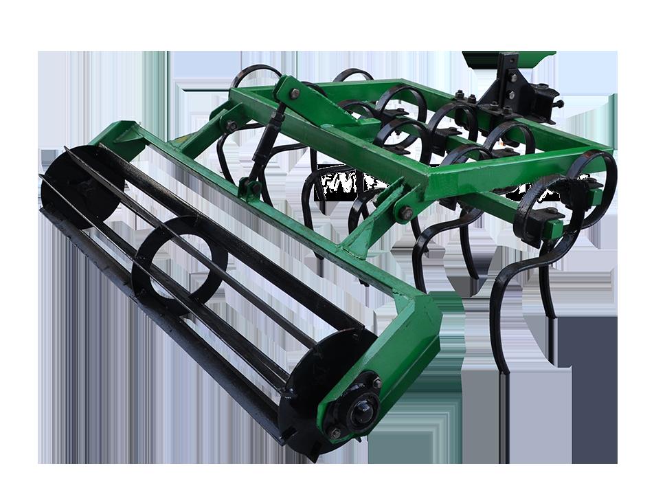 Культиватор сплошной обработки КН - 1 пружинный с катком Володар (для мотоблоков)