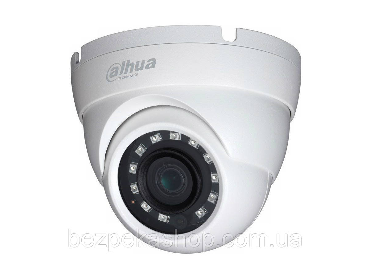 Dahua DH-HAC-HDW1220MP-S3 (2.8 мм) видеокамера купольная наружная