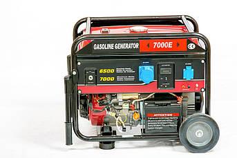 Генератор бензиновий WEIMA WM7000E (7 кВт, 1 фаза, електростартер)