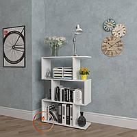 Стеллаж для дома, полка для книг, стеллаж для книг из ДСП. КОД: P0026