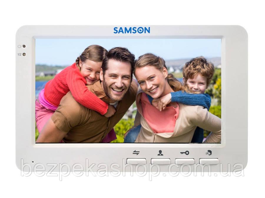 """Samson SW-75H AHD монитор домофона 7"""" (белый)"""