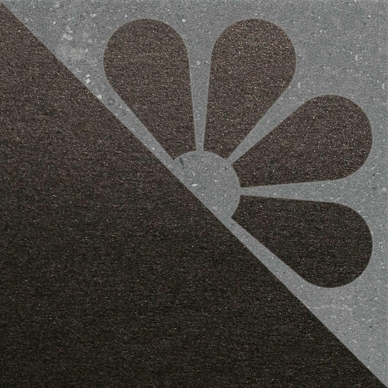 Декор Kerama Marazzi матрикс серый тёмный SBD041\SG1591