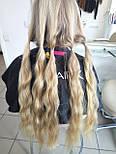 Зріз слов'янських волосся 70 див. Незабарвлені, фото 7