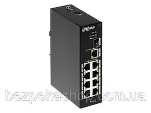 Dahua PFS3110-8P-96 коммутатор 10-ти портовый, 8 из них с PoE, 1-SFP порт