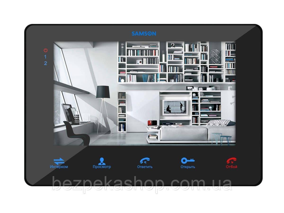 """Samson SW-78L монитор домофона 7"""" (черный)"""