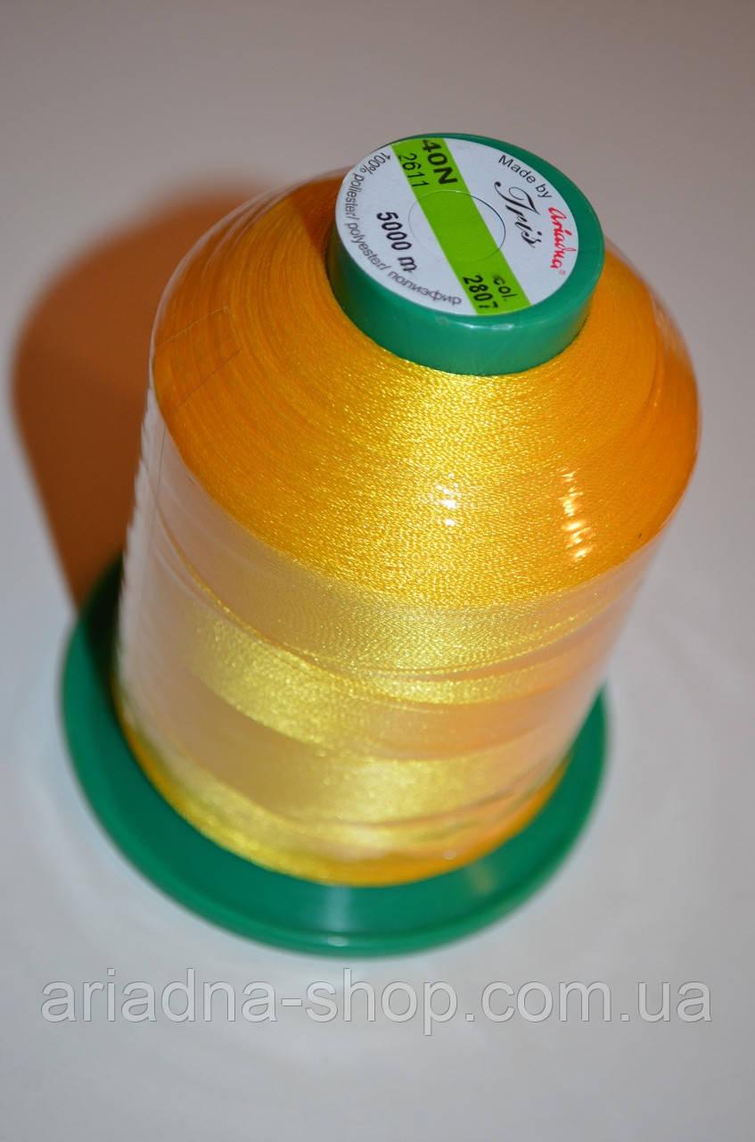 Нитка для машинної вшивки Iris 40N / 5000м (2807)