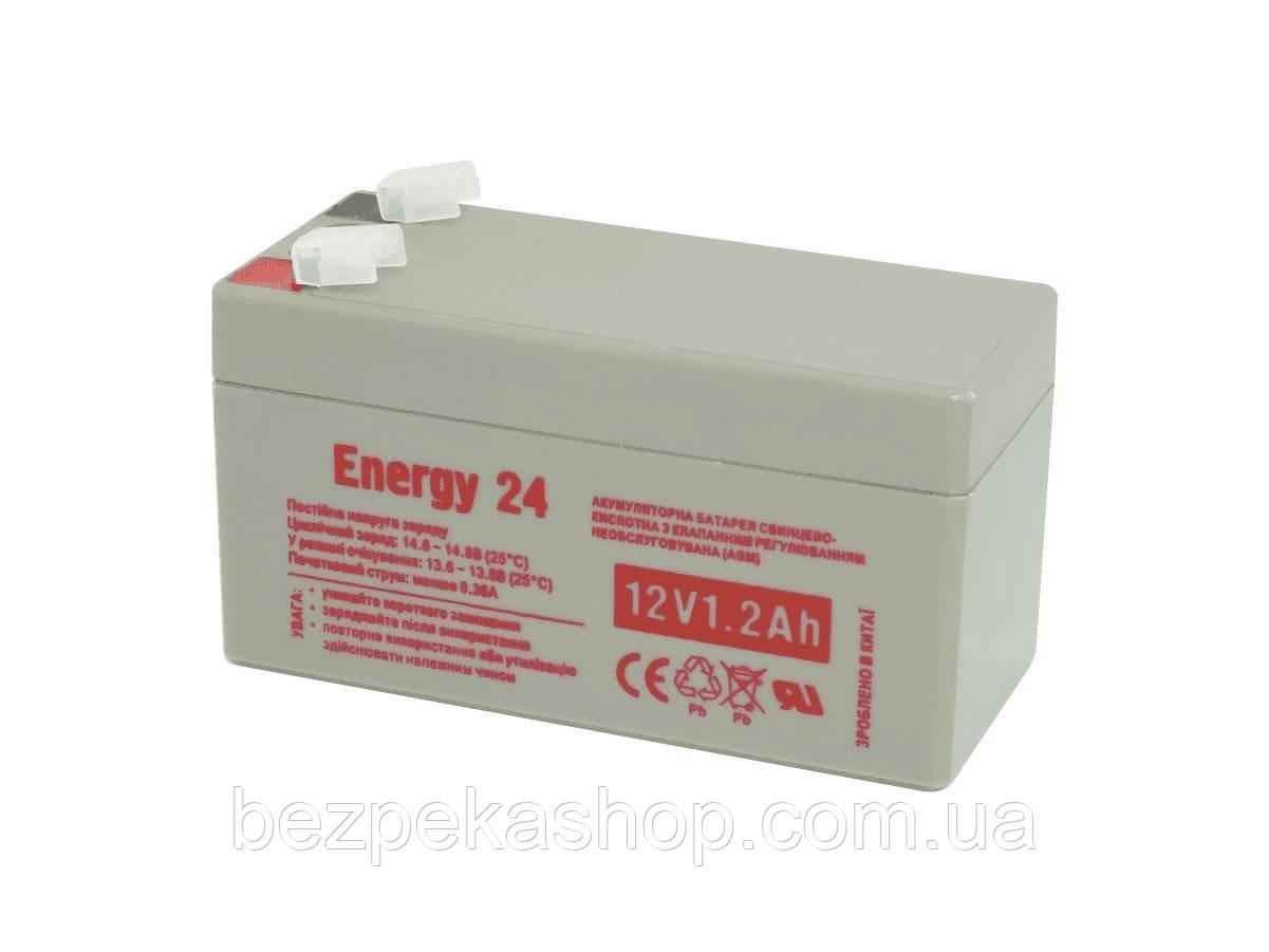 Energy24 Аккумулятор свинцово-кислотный 12V1.2AH