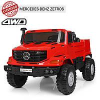 Детский двухместный электромобиль Mercedes M 3990 EBLR-3 красный