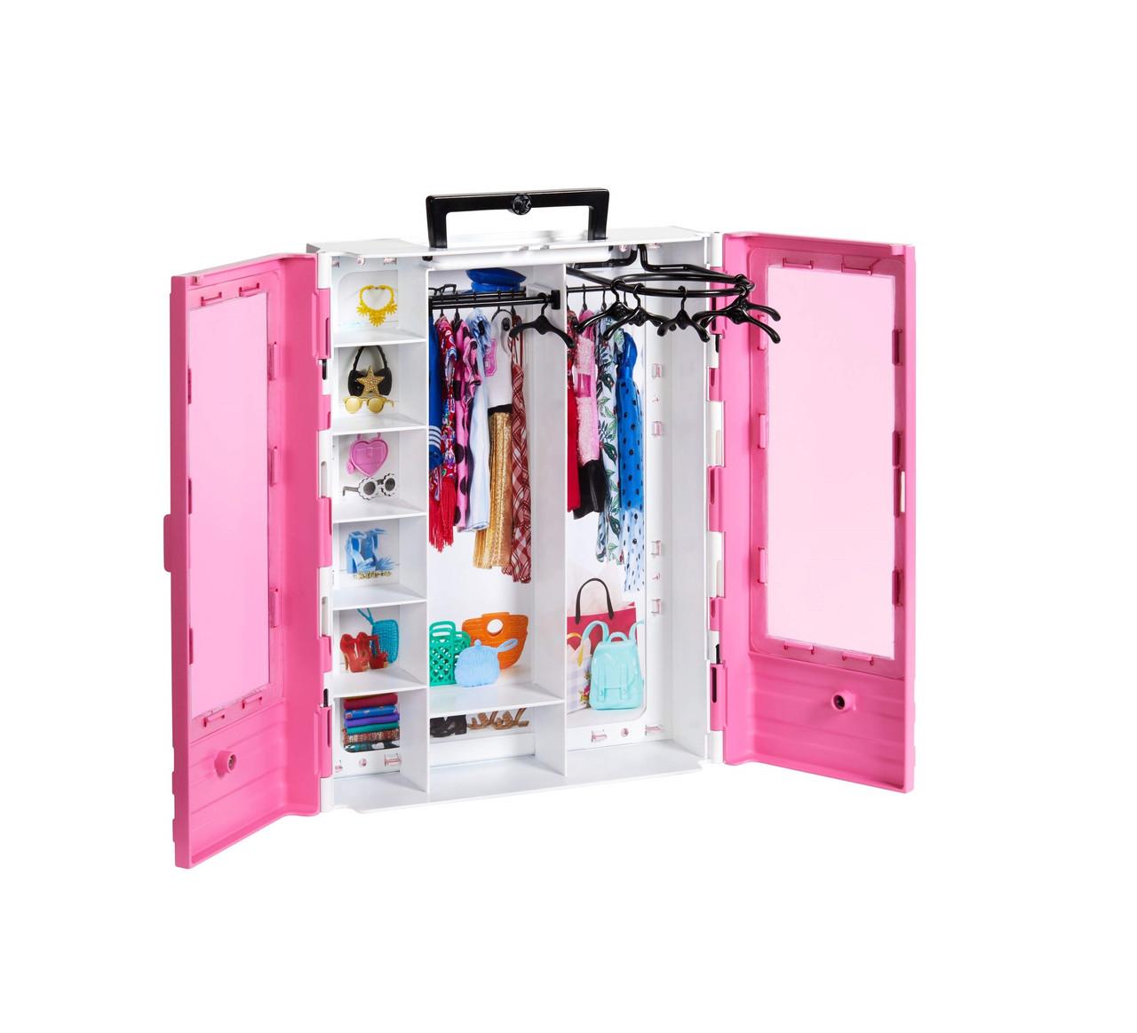 Оригинальный Гардероб для Барби БЕЗ ОДЕЖДЫ! Barbie Fashionistas Ultimate Closet Accessory (GBK11)