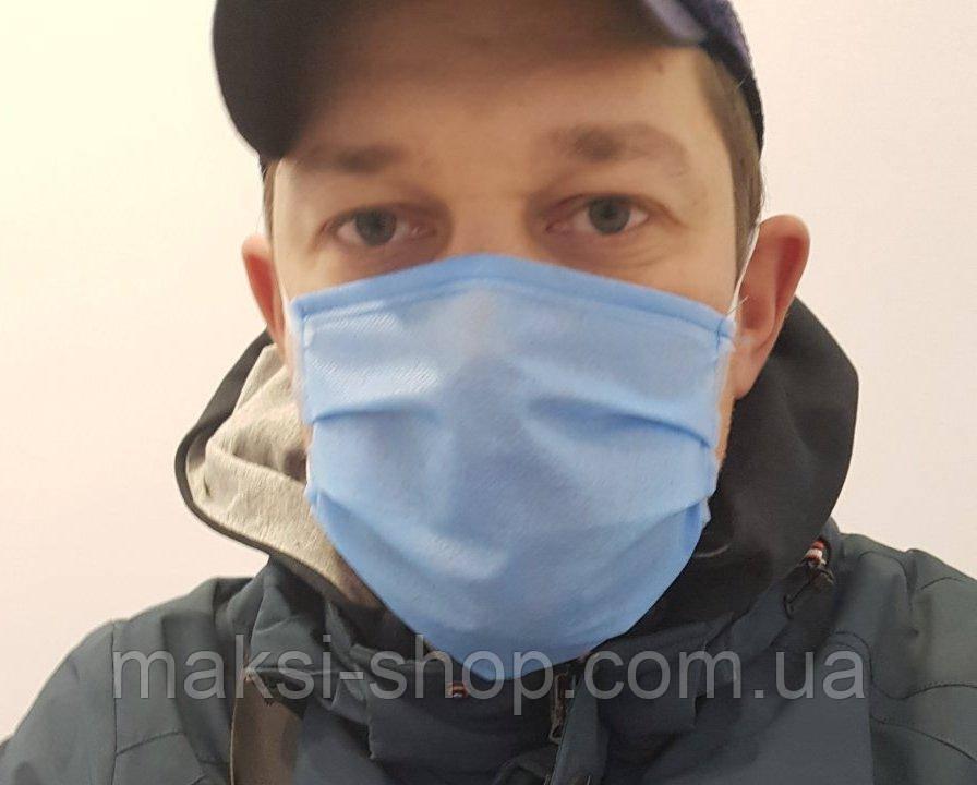 Защитная маска  не медицинская трёхслойные  9999