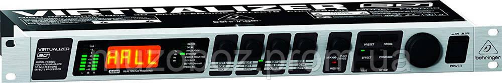 Процессор эффектов Behringer FX 2000 3D