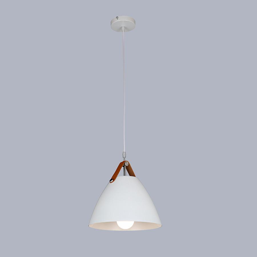 Дизайнерский белый подвес (27см)